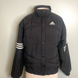 Adidas Puffer Crop Jacket Size Small